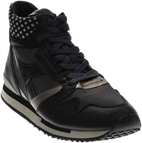 uomo sneakers blu shoes Nero grigio sneakers HERITAGE Blu 6446N man DIADORA Grigio nero 5wFaqnS