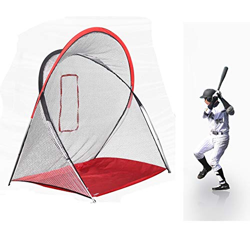 Kapler Baseball Softball Practice Net Practice Hitting Pitching Baseball Batting net Practice Driving net 220cm L x140cm W x210cm H