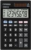 シチズン 手帳サイズ電卓(8桁表示) DE820