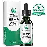 marijuana extract - CannaTrust Full Spectrum Hemp Extract Oil - All Natural Blend - for Pain, Anxiety and Inflammation - 500mg Ultra Pure - Sleep Better - Reduce Stress - Restore Balance - 1oz
