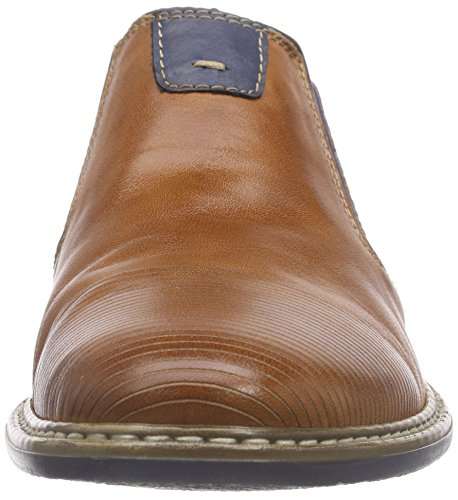 13451 Marron navy brandy Mocassins Rieker Homme royal dzwadCq