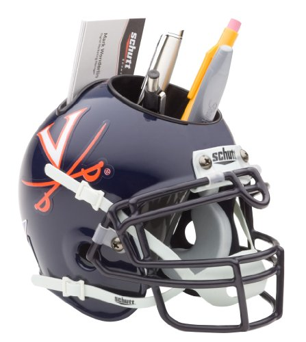 Virginia Cavaliers Team Helmet (NCAA Virginia Cavaliers Mini Helmet Desk Caddy)
