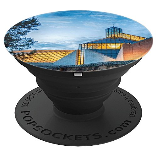 Luxembourg Architecture Design Museum Three Eechelen - PopSockets Grip and Stand for Phones and Tablets