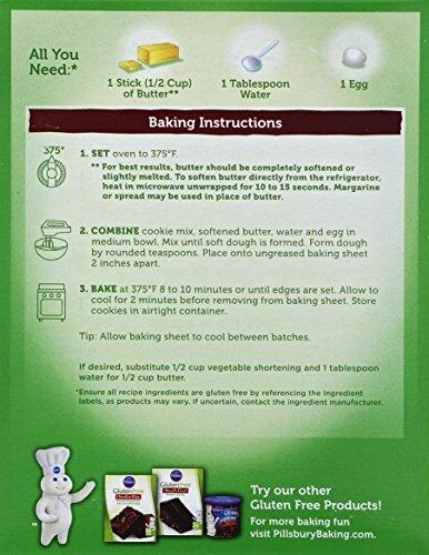 Pillsbury Gluten-Free Chocolate Chip Premium Cookie Mix, 17.5 Ounce (Pack of 12) by Pillsbury (Image #1)