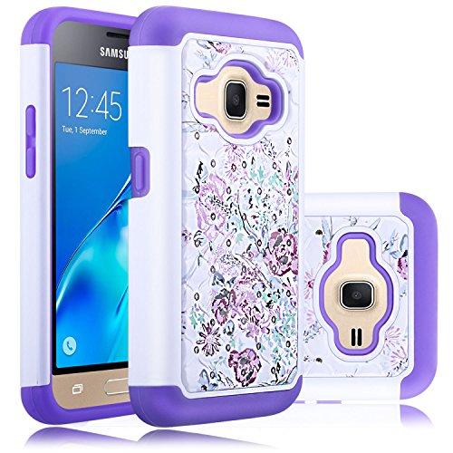 Slim Fit Hybrid Case for Samsung Galaxy J1 (White) - 7