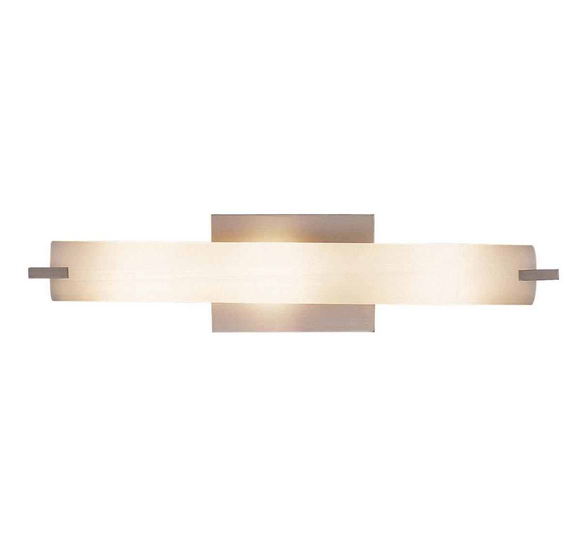George Kovacs P5044-084, Tube, 3 Light Bath Fixture, Brushed Nickel