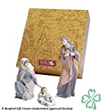 Nao by Lladro Collectible Porcelain Figurine: NATIVITY set w/ Mary, Joseph, and Baby Jesus...