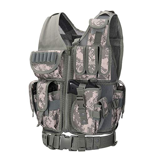 GZ XINXING 100% Full Refund Assurance Tactical Airsoft Paintball Vest (ACU)