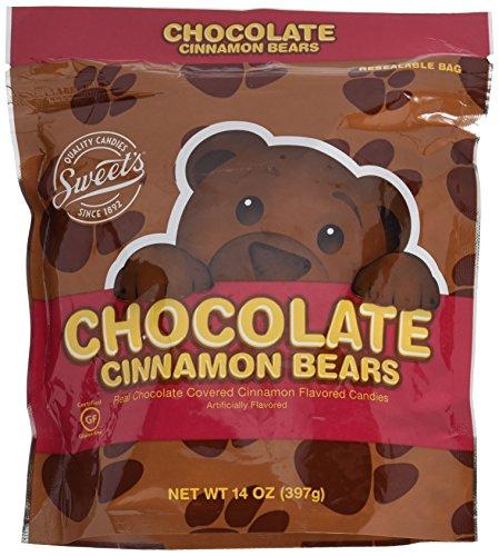 Sweets Real Chocolate Covered Cinnamon Bears