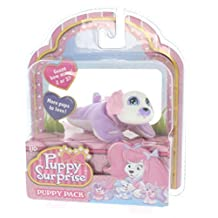 Puppy Surprise Mystery Puppy Pack, More Pups to Love! (Girl Puppy/Purple body, white face) by Puppy Surprise