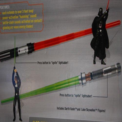Electronic Lightsabers (Collector's Set): Luke Skywalker & Darth Vader by Star Wars (Image #1)
