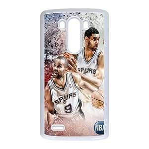 Tony Parker HILDA8108647 Phone Back Case Customized Art Print Design Hard Shell Protection LG G3