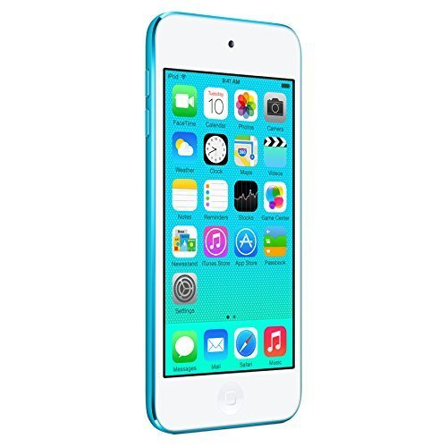 Apple iPod Touch 16GB Blue (5th Generation) (Renewed) (Ipod Nano 5th Blue)