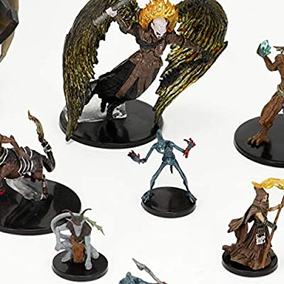 WizKids Dungeons & Dragons: Icons of The Realms: Baldurs Gate - Descent into Avernus Booster Pack (1 Box): Amazon.es: Juguetes y juegos