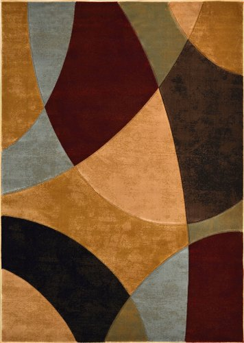 Home Dynamix  Evolution Collection  1 Hd973 999  Multi  710 X102   Area Rug
