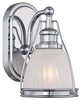 Minka Lavery 5791-77 Transitional 1 Light Bath Art Lighting, Chrome