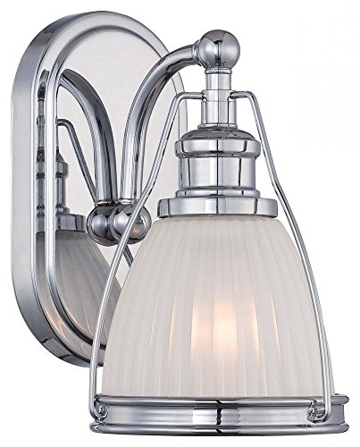 Minka Lavery 5791-77 Transitional 1 Light Bath Art Lighting, Chrome