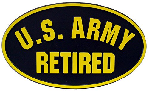 US Army Retired Trailer Hitch Cover 2