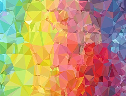 Crinkle Rainbow - Impuzzible 1000 Piece Jigsaw Puzzle: All Jigsaw Puzzles
