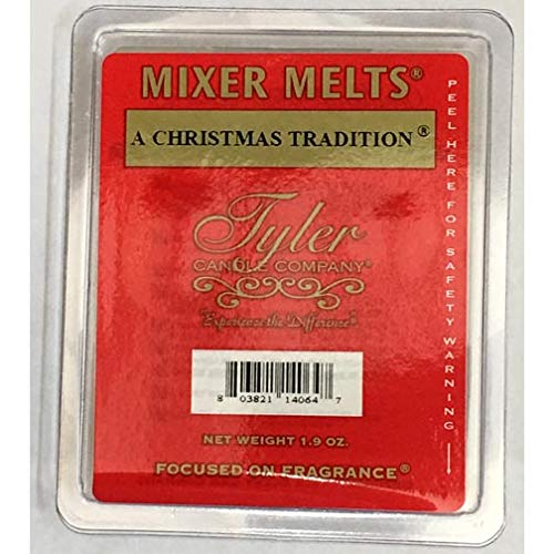 Tyler Candle Mixer Melts Wax Potpourri Set of 4 - A Christmas Tradition