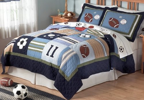 All State Quilt Set (Full/Queen) by Pem America by Pem America