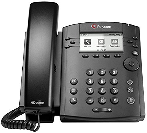 Polycom VVX 300 IP Business PoE Telephone (Power Supply Included) ()