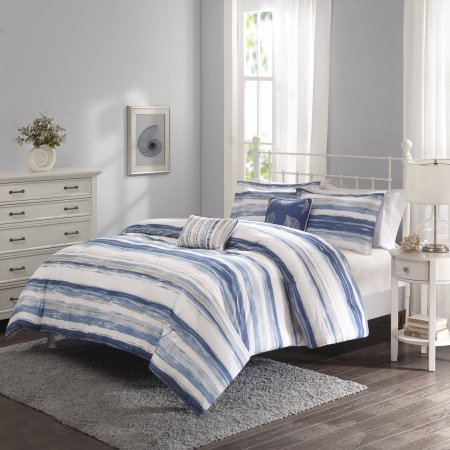 Home Stripe Comforter Set - 5