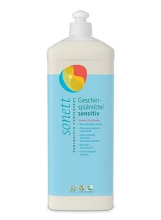 Soneto Detergente para lavavajillas Sensitiv: colorantes ...