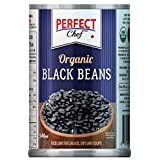 Perfect Chef Organic Black Beans (12-Pack), 12 x 540ml