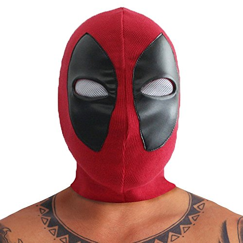 REINDEAR Marvel Comics Movie Deadpool Custome Cosplay Mask US (Deadpool Masks)