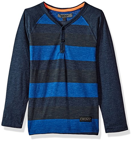 DKNY Little Boys' Long Sleeve T-Shirt (More Styles Available),Dress (Dkny Kids Clothing)