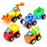 Tiny Mynee Automobile Car Toy For Kids Multicolor - Set Of 4