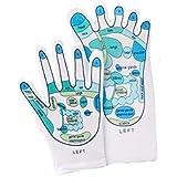 Reflexology Gloves & Socks Set- Reflexology Zones Marked. 1 Pair of Each
