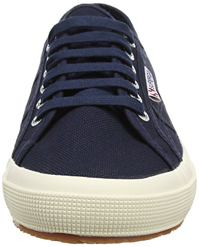 2750 Superga Low Cotu Blue Top Unisex Adults' Classic Sneaker S933 Navy Twdqw4