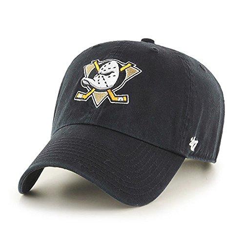 '47 Brand Relaxed Fit Cap - CLEAN UP Anaheim Ducks black
