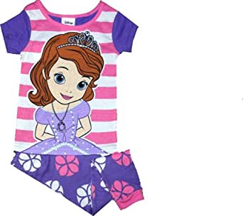 Disney Sofia the First Little Girls Pajamas (2T-5T) (3T)