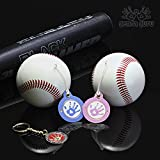 GendaGuru Premium Gender Reveal Baseball Set BONUS KEEPSAKE | 2 x Exploding Baseballs with EXTRA Pink and Blue Powder | Baby Shower Gender Reveal Party Supplies | Team Boy Or Girl