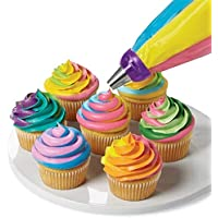 BEESCLOVER 3 Color Cake Piping Bag Converter Color Cream Pastry Tips Cake Decorating Tools
