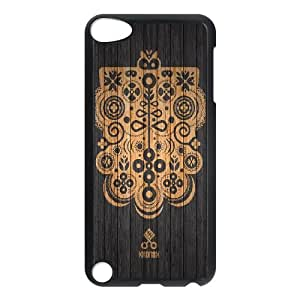 iPod Touch 5 Case Black Wooden Texture Art Background Ozbxu