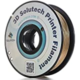 3D Solutech Real Gold 3D Printer PLA Filament 1.75MM Filament, Dimensional Accuracy +/- 0.03 mm, 2.2 LBS (1.0KG) - 100% USA