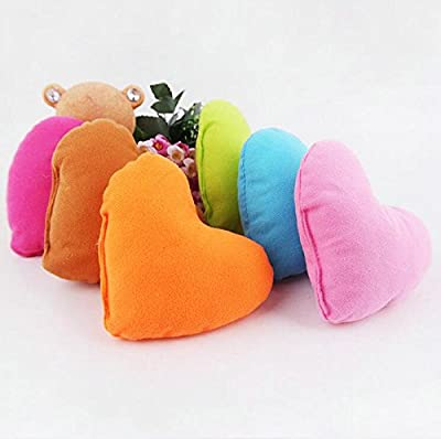 Freedi 6Pcs Comfort Heartbeat Pet Pillow  Heart Shape Pet Dog Puppy Neck Pillow from Freedi