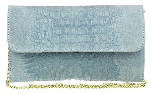 Bleu Femme Handbags Clair Pochettes Girly wqAxT