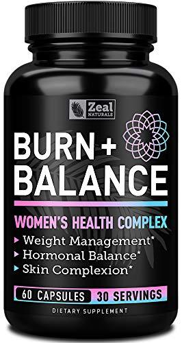 Weight Loss Pills for Women + Daily Balance Vitamins (Iron