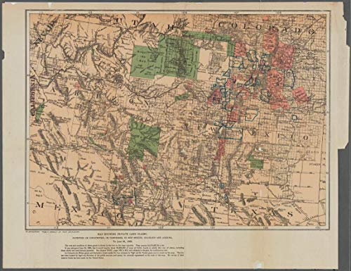 Vintography Reprinted 18 x 24 1884 Map of Washington Buffalo, E. Ferry Ave, Heminway St, Jehle St, Walden Ave, Koons Ave, Nevada Ave. Government Printing Office 0 0 35a by Vintography