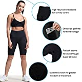Women's High Rise Gym Shorts Tummy Control Fitness