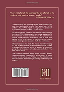 The Entrepreneur's Manual: Business Start-Ups, Spin-Offs, and Innovative Management by Churchill & Dunn, Ltd