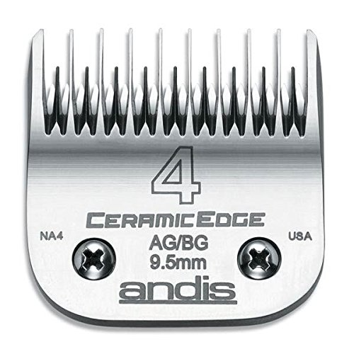 Stainless Steel Pro Quality Grooming CERAMIC EDGE CLIPPER BLADES CHOOSE SIZE !(# 30 = .5mm) by Andis (Image #4)