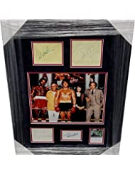 Rocky Cast Signed Autographed Collage Sylvester Stallone Carl Weathers + 3 BAS