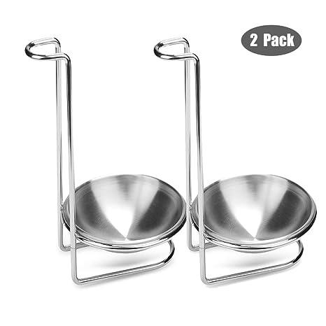 Amazon.com: Soporte para cucharas, iPstyle de acero ...