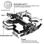 INBIKE-Pedali-MTB-Pedali-Flat-CNC-Lega-di-Alluminio-Leggero-Antiscivolo-Pedali-Bici-Ultra-per-Bici-da-Strada-BMX-MTB-Unisex-Adulto